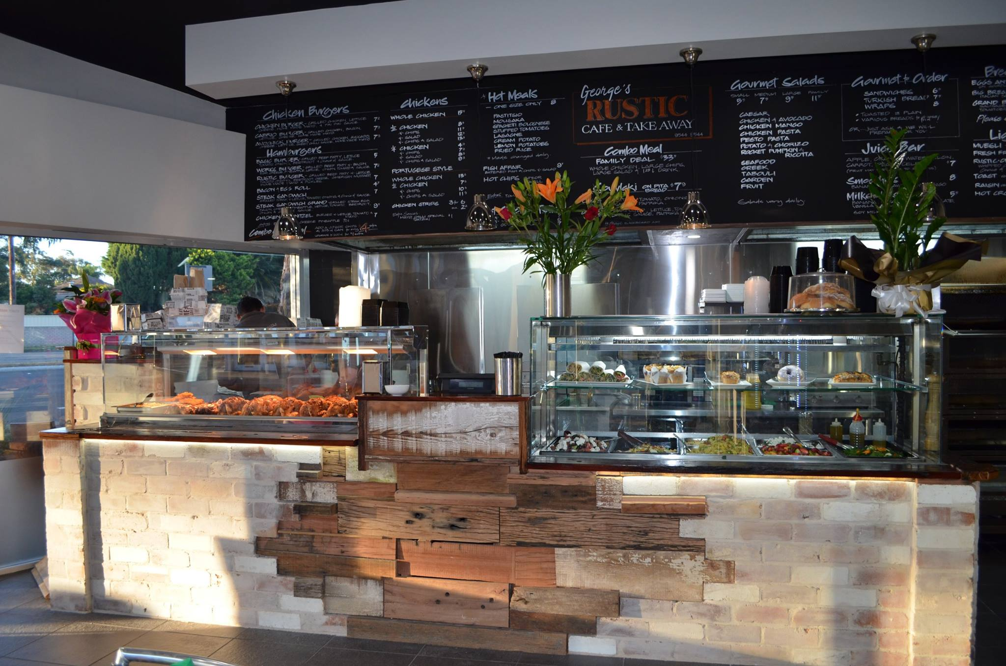 georges rustic cafe takeaway the australian local business awards
