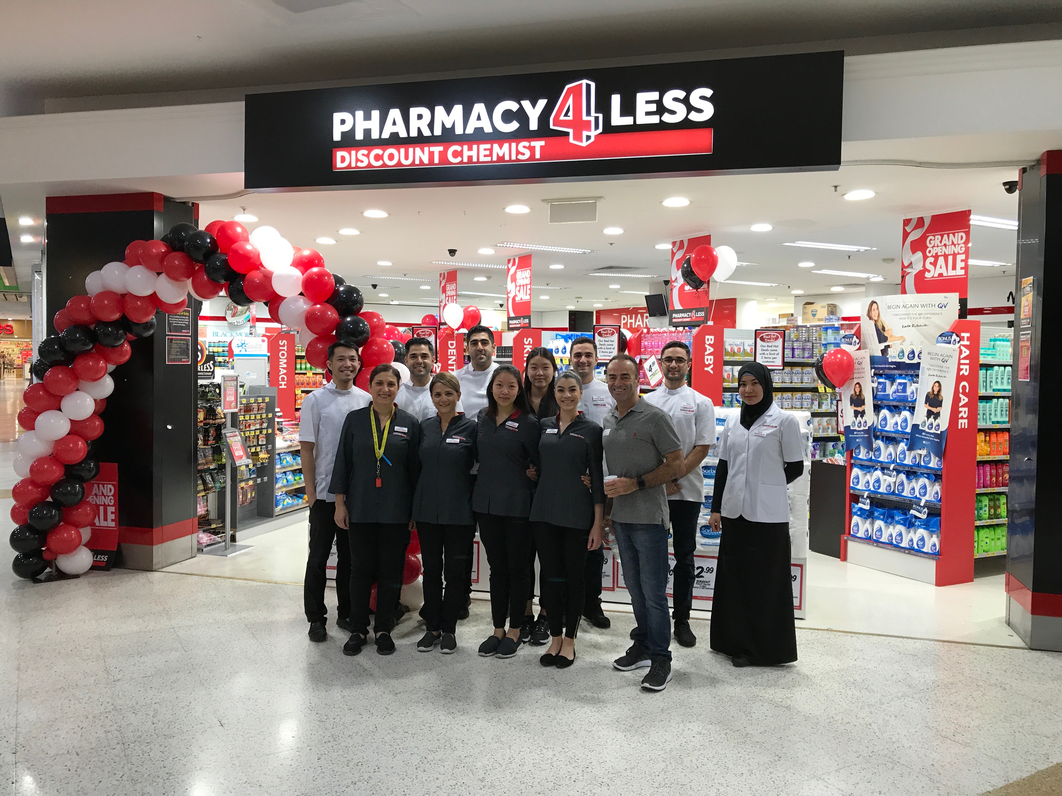 Pharmacy 4 Less at Westfield Burwood